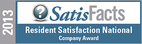 SatisFact Superior Resident Satisfaction Award