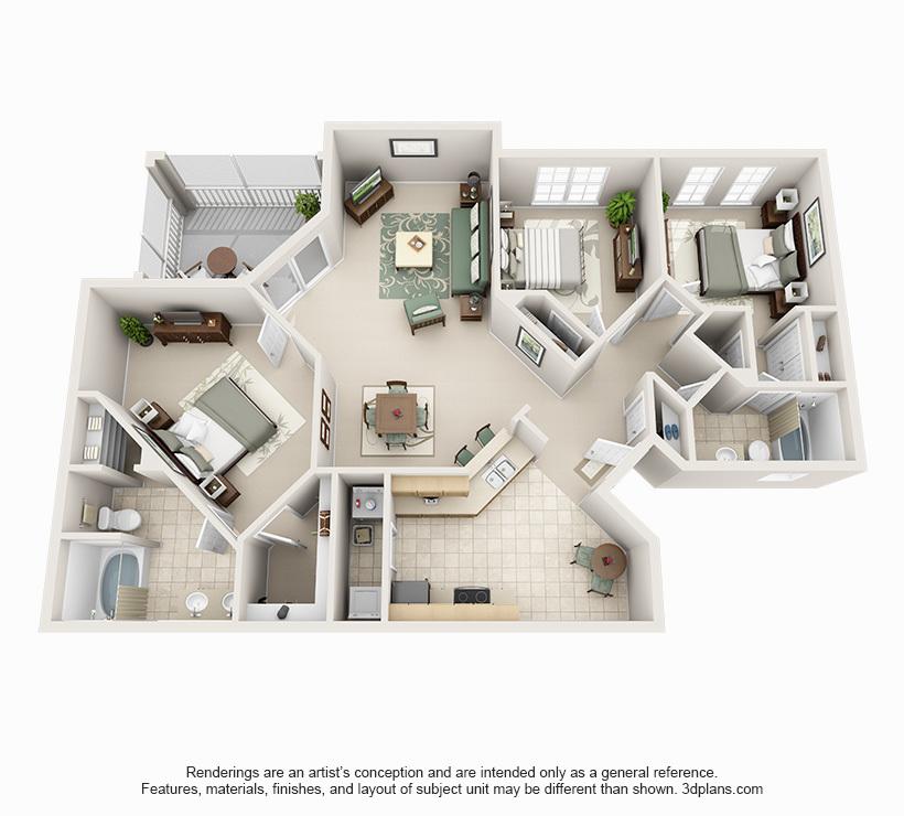 tampa fl apartment century falls two bedroom floorplans