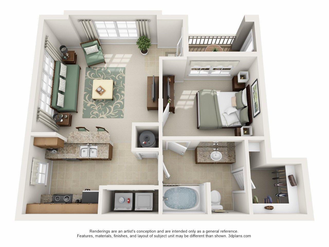Charlotte Apartments Century Highland Creek Home