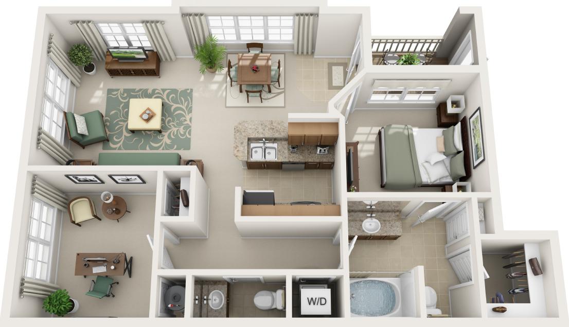 Charlotte Apartments | Century Highland Creek | Home