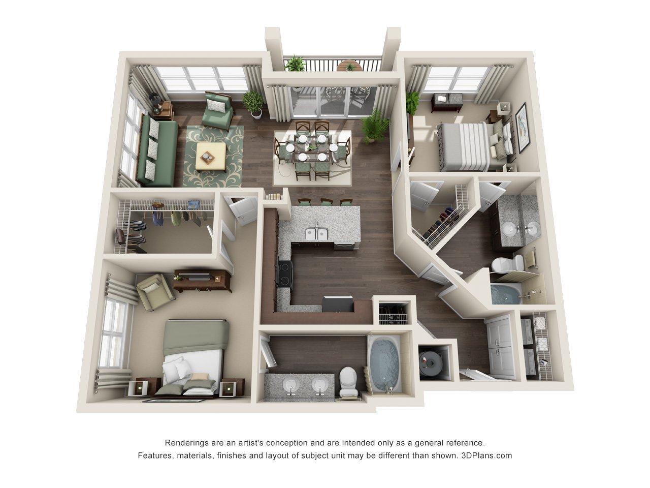 Luxury Downtown Orlando Apartments | Century Millenia