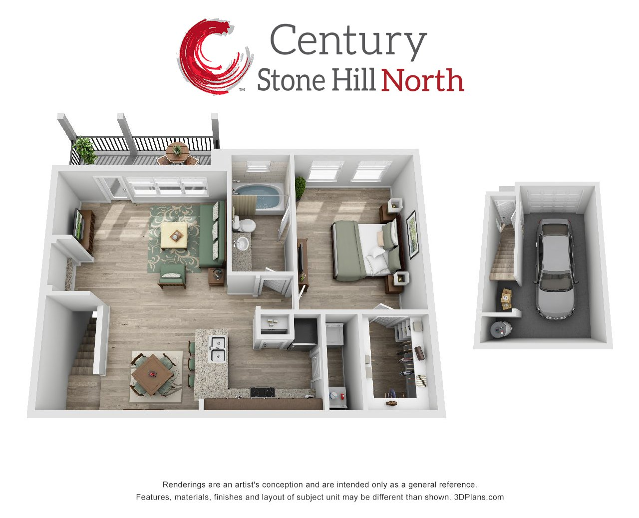 Apartments In Pflugerville | Century Apartments Stonehill