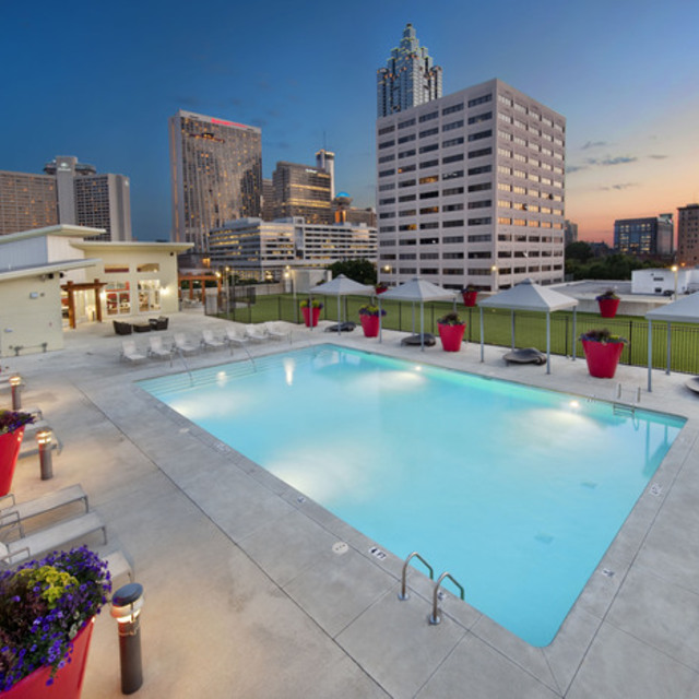 Century Skyline Apartments Pool Area