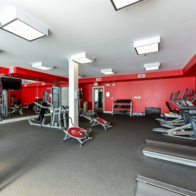 Century Skyline Apartments Fitness Center