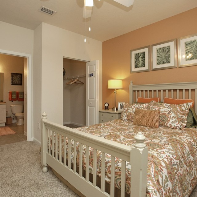 Century Citrus Towers Apartments Master Bedroom