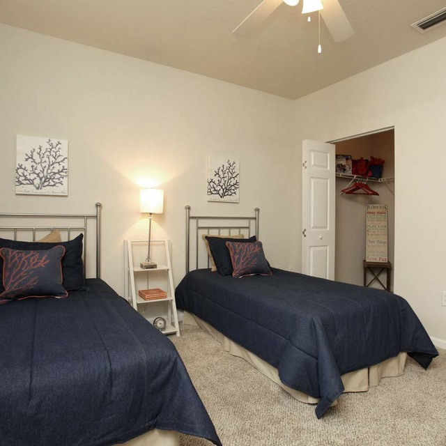 Bedroom At Century Citrus Towers Apartments