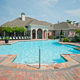 Pool area of Century-Peachtree-Creek Apartments