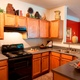 Kitchen area of Century Sugarloaf Apartments