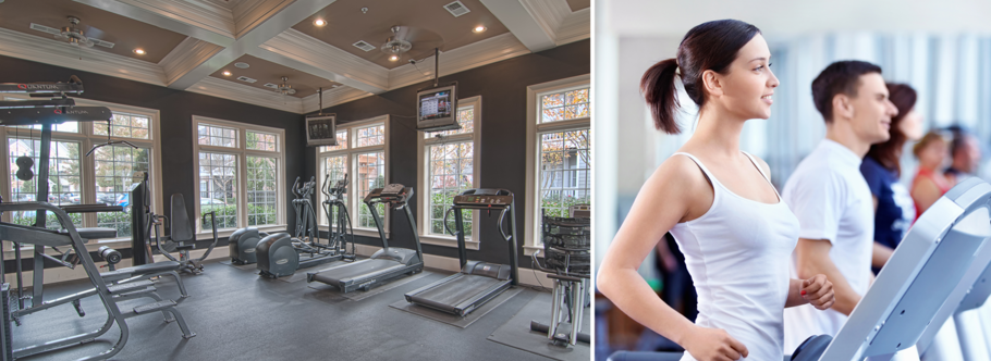 Fitness center of Century-Peachtree-Creek Apartments