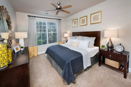 Century Tryon Place Apartments Bedroom