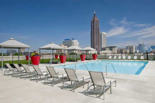Century Skyline Apartment Homes Pool Area