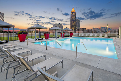 Century Skyline Apartment Pool