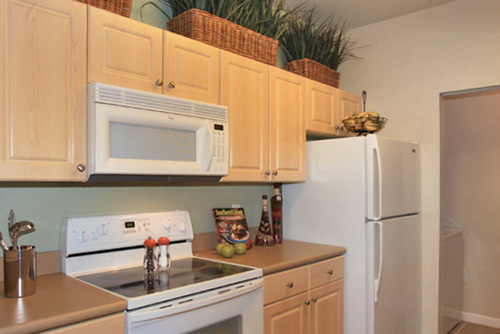 Kitchen Of Century Citrus Tower Apartments